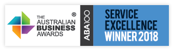 The Australian Business Awards Service Excellence Winner 2018
