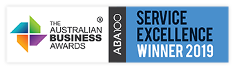 The Australian Business Awards Service Excellence Winner 2019